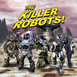 The Killer Robots! CD